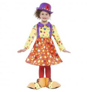 disfraz payasita tutú infantil