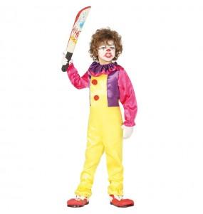 Disfraz de Payaso Asesino Pennywise para niño