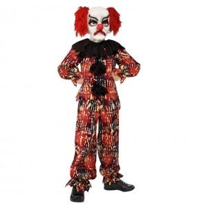 Disfraz de Payaso aterrador para niño