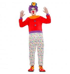 disfraz de arlequín colores