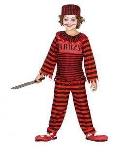 Disfraz de Payaso Psycho para niño