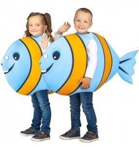 Disfraz de Pez Azul para niño