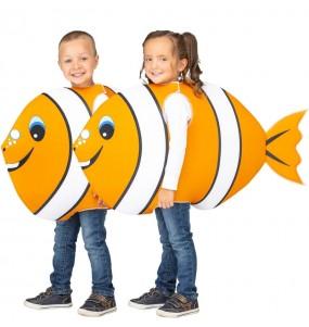 Disfraz de Pez Naranja para niños