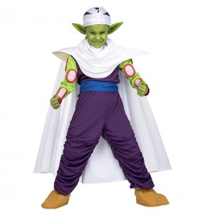 Disfraz de Piccolo para niño Dragon Ball
