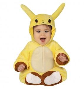 Disfraz de Pikachu para bebé