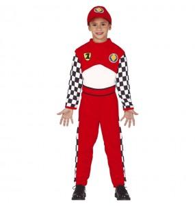 Disfraz de Piloto Carreras para niño