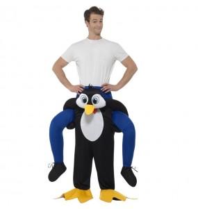 Disfraz de Pingüino a hombros para adulto
