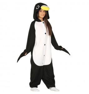 Disfraz de Pingüino Kigurumi para niños