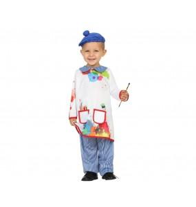Disfraz de Pintor Colorido para bebé