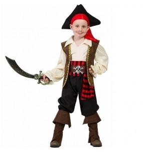 Disfraz de Pirata alta mar para niño