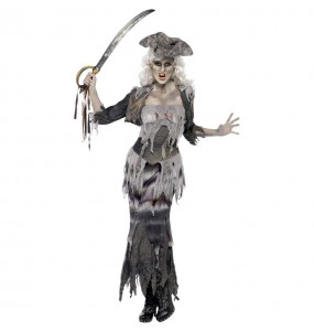 Disfraz de Pirata barco fantasma para mujer