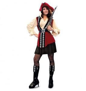 Disfraz de Pirata Calavera mujer