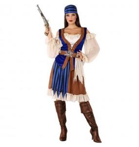 Disfraz de Pirata Caribeña para mujer