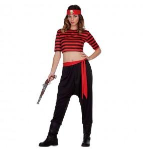 Disfraz de Pirata del Tesoro para mujer