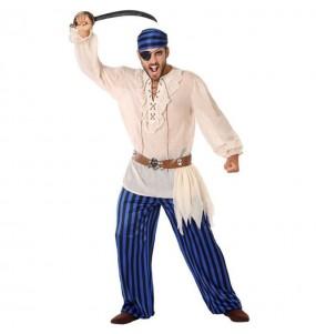 Disfraz de Pirata Caribeño para hombre