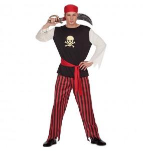 Disfraz de Pirata del Tesoro para hombre