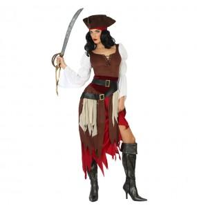 Disfraz de Pirata del Caribe para mujer