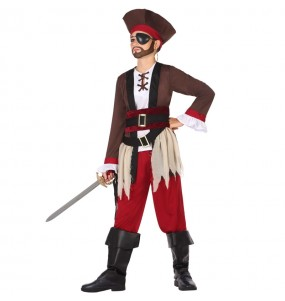 Disfraz de Pirata del Caribe para niño
