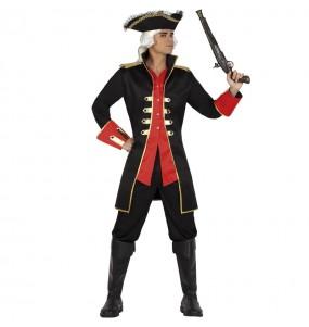 Disfraz de Pirata del océano para hombre