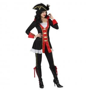 Disfraz de Pirata del océano para mujer