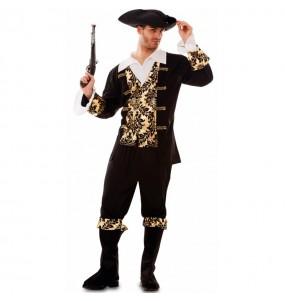 Disfraz de Pirata Dorado para hombre