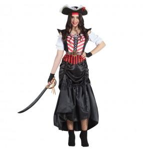 Disfraz de Pirata Espadachín para mujer