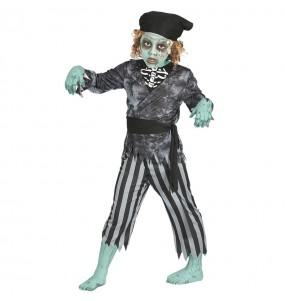 Disfraz de Pirata Fantasma Niño