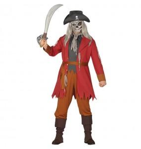 Disfraz de Pirata Fantasma Salazar para hombre