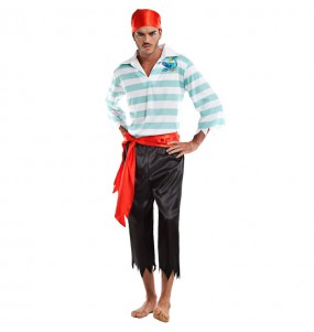 Disfraz de Pirata Filibustero para hombre