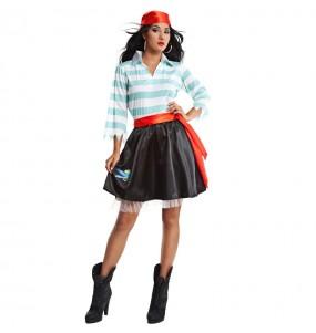 Disfraz de Pirata Filibustero para mujer
