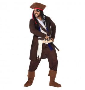 Disfraz de Pirata Jack Sparrow para hombre