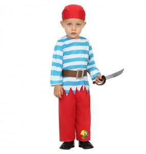 Disfraz de Pirata loro para bebé