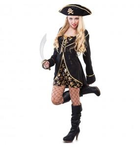 Disfraz de Pirata Noche para mujer