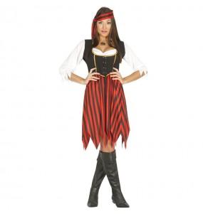 Disfraz de Pirata Ultramar para mujer