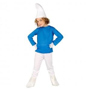 Disfraz de Enanito azul para niño