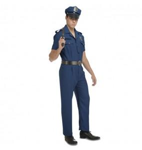 Disfraz de Policía Nueva York para hombre