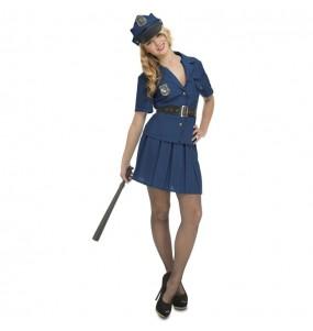 Disfraz de Policía Nueva York para mujer