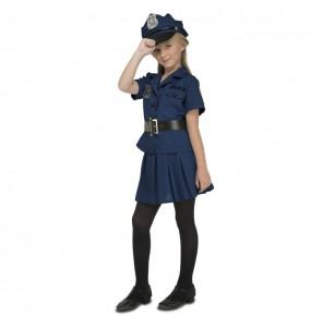 Disfraz de Policía Nueva York para niña