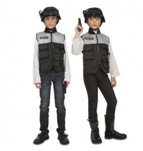 Disfraz de Policía Swat con accesorios para niños