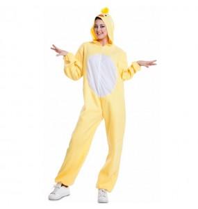 Disfraz de Pollito Calimero para adulto