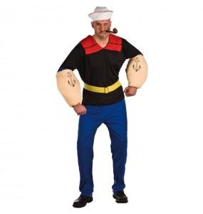 Disfraz de Popeye Marinero para adulto