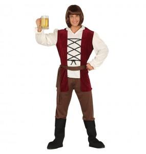 Disfraz de Posadero Edad Media para hombre