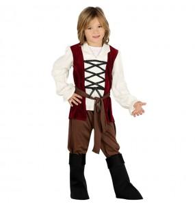 Disfraz de Posadero Medieval para niño