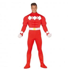 Disfraz de Power Ranger para hombre