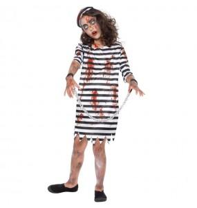 Disfraz de Presa Zombie para niña