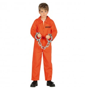 Disfraz de Preso Guantánamo para niño