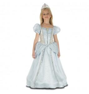 Disfraz de Princesa Azul Deluxe para niña