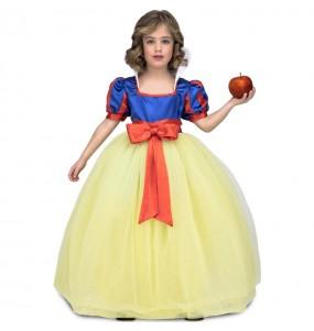 Disfraz de Princesa Blancanieves Lujo para niña