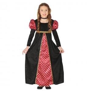 Disfraz de Princesa Corte Medieval para niña