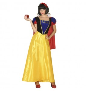 Disfraz de Princesa cuento Blancanieves para mujer